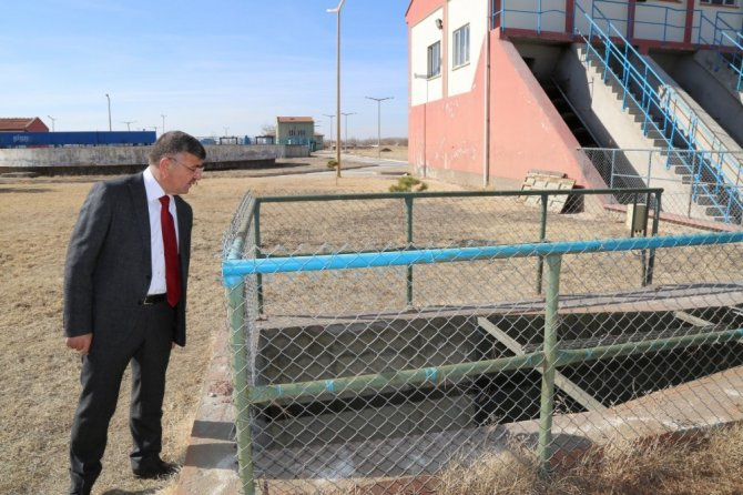 Niğde Belediyesi Arıtma Tesisi İçin Düğmeye Bastı