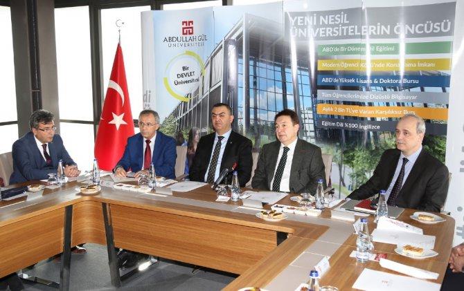 Agü'de Üniversite-sanayi İşbirliği Toplantısı Gerçekleştirildi