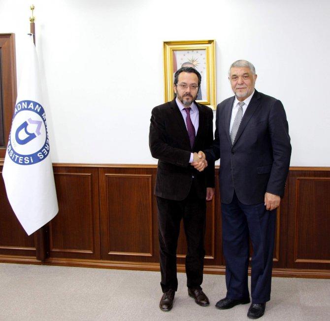 Karahan, Adü Rektörü Bircan'ı Ziyaret Etti