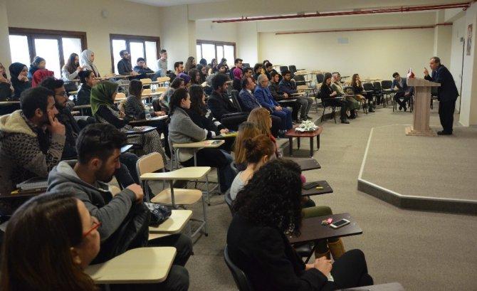 Rumeli Üniversitesinde Mehmet Akif Ersoy Anıldı