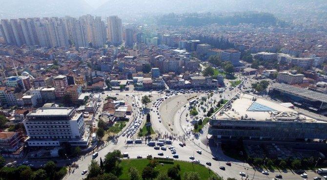 Bursa'da Kent Meydanında Büyük Dönüşüm