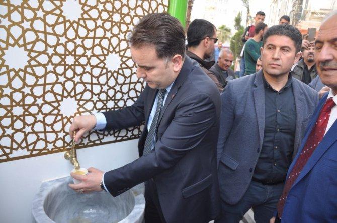 Çorba Çeşmeleri Kızıltepe'de Hizmete Girdi