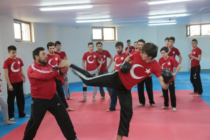 Ordu'da Kur'an Kursu Öğrencilerine Spor Salonu