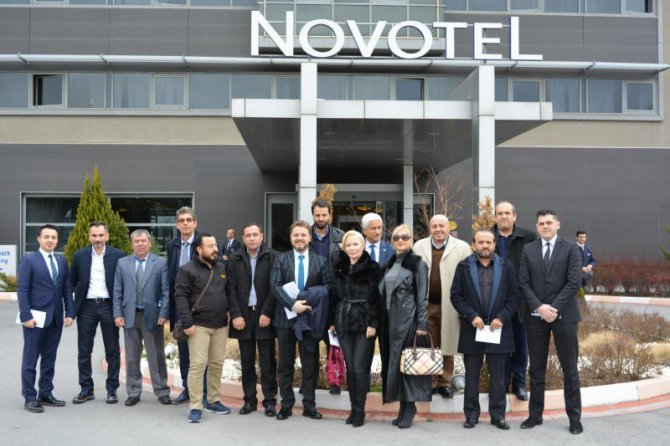 Ankara Fuarına Ve Turizm Haftasına Hazırlık Toplantısı Yapıldı
