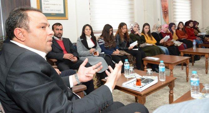 Başkan Karatay, Öğrencilerle Buluştu
