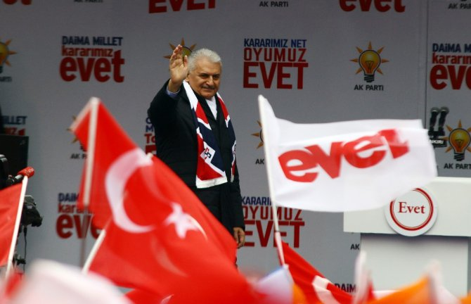 """Başbakan Yıldırım: """"Türkiye, Hollanda Seçimlerine De Ayar Verdi"""""""