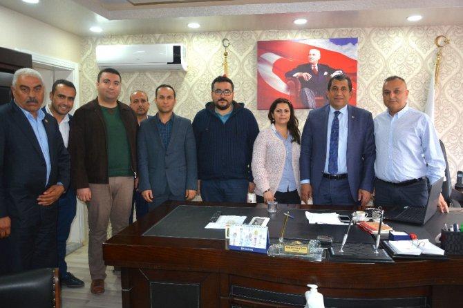 Başkan Atilla'dan Sağlık Çalışanlarına Ziyaret