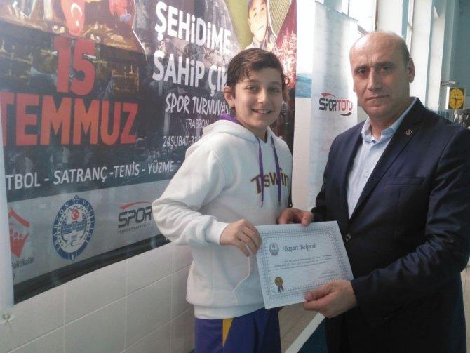 Trabzon'da 530 Sporcu Şehit Aileleri İçin Ter Döktü