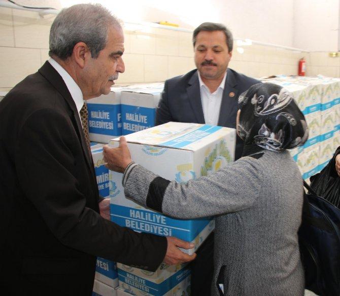 Haliliye Belediyesinden Bin 6 Aileye Gıda Yardımı
