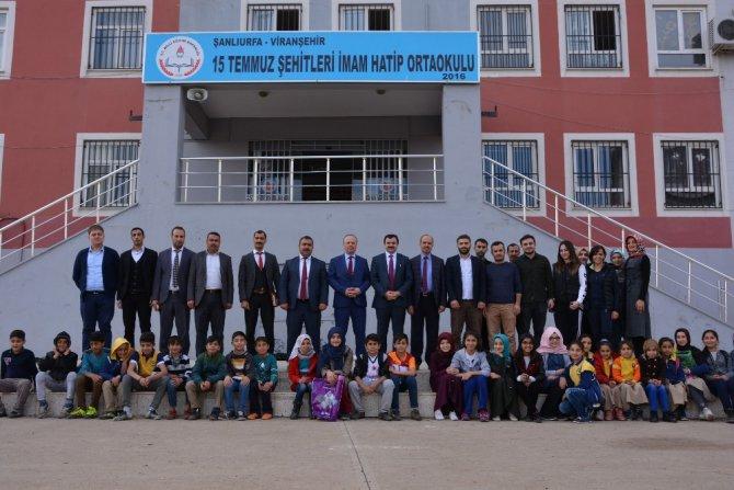 İl Milli Eğitim Müdürü Turan Viranşehir'de
