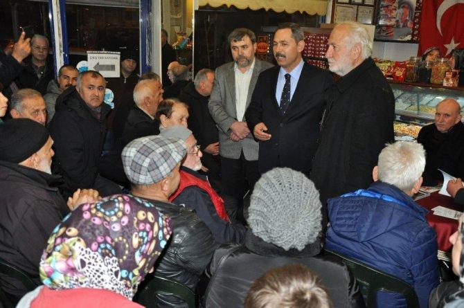 """Başkan Uysal """"Millet 16 Nisan'da Yetkiyi Eline Alacaktır"""""""