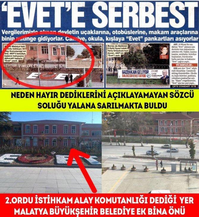 Malatya Büyükşehir Belediye Başkanı Çakır, Gazete Haberini Yalanladı