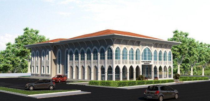 Yazıhan Kültür Merkezinin Kaba İnşaatı Tamamlandı