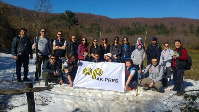Datatech Grup Treking Kulübü'nden Doğa Yürüyüşü