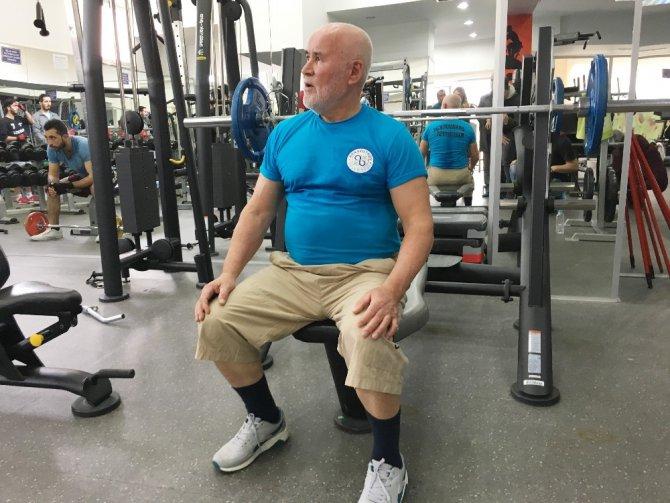 70'lik Dede Vücut Geliştirme Şampiyonası'na Hazırlanıyor