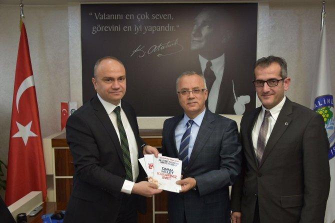 Mhp'li Belediye Başkanı, Ak Parti İl Başkanını Ağırladı