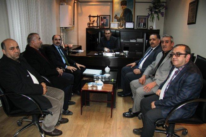 Ak Parti'den Oda Başkanlarına Ziyaret