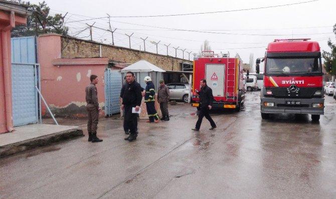 Cezaevindeki Yangın İhbarı Tatbikat Çıktı