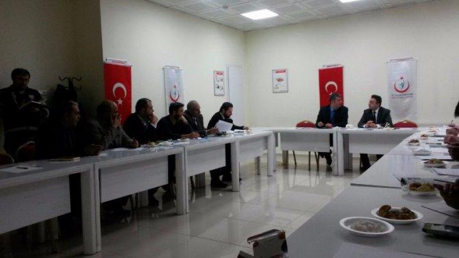 Bitlis'te 'Bağımlılık Ve Bağımlılık Yapıcı Maddelerle Mücadele' Toplantısı