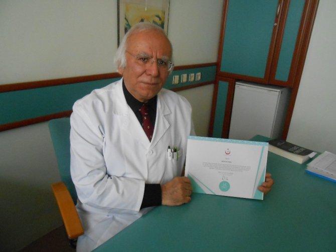 Eskişehir'de Yılın Hekimleri Belli Oldu