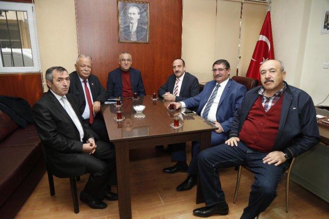 Başkan Duruay'dan Gölbaşı Ziraat Odası Başkanı Karaarslan'a Ziyaret