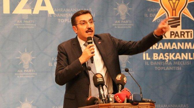 """Bakan Tüfenkci: """"Chp Raydan Çıktı, Dini Siyasete Alet Ediyor"""""""
