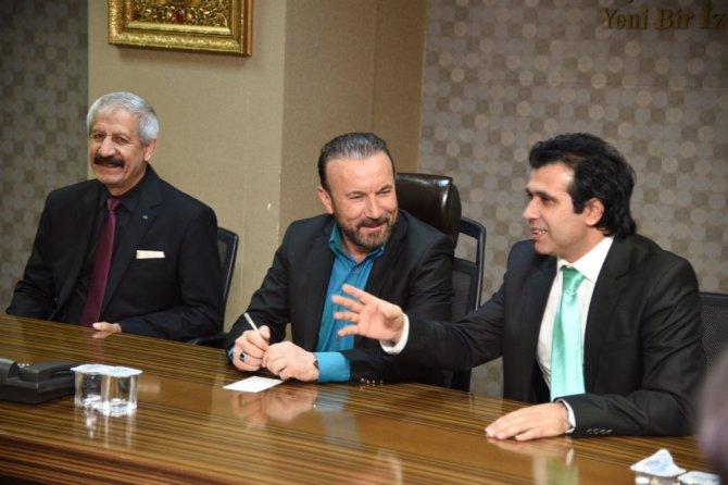 Başkan Doğan, Türkiye Romanlar Konfederasyonu Başkanı Ve Beraberindeki Heyeti Makamında Ağırladı