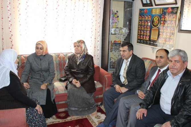 Beyşehir'de Şehit Ailelerine Ziyaret