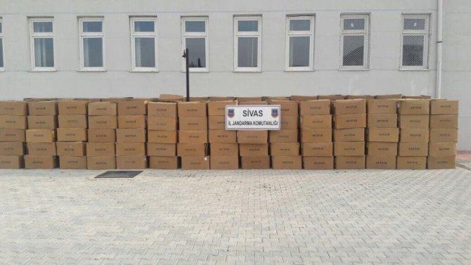 6.5 Ton Kaçak Tütün Ele Geçirildi.