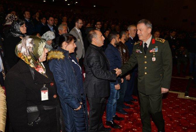 Genelkurmay Başkanı Orgeneral Akar, 18 Mart Şehitler Günü Anma Töreni'ne Katıldı