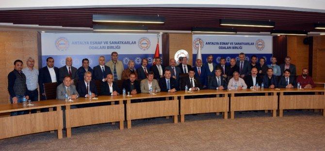 Oda Başkanları Antalya'da Buluştu