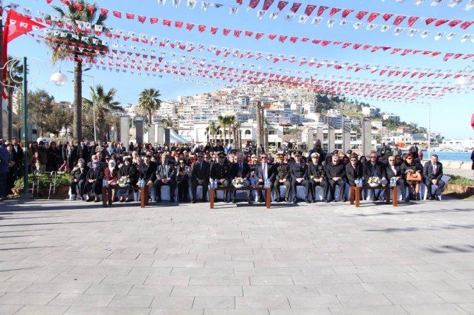 Kuşadası'nda 18 Mart Çanakkale Zaferi Ve Şehitleri Anma Günü Etkinlikleri
