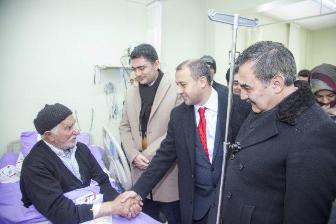 Kore Gazisi Hastanede Ziyaret Edildi