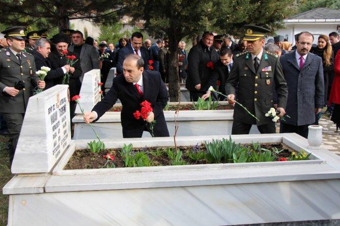 Amasya'da Şehitler Dualarla Anıldı