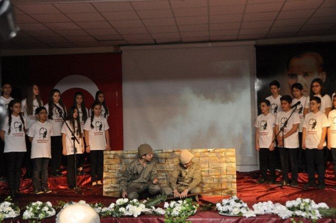 """Gkv'liler """"Bir Destandır Çanakkale"""" Oratoryosuyla Duygulandırdı"""