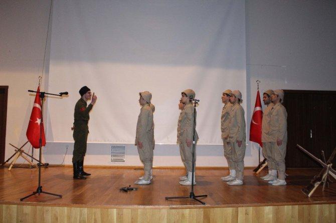 Muş'ta Çanakkale Zaferinin 102 Yılı Etkinliği