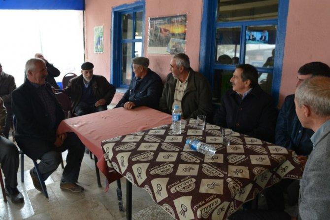 Başkan Ataç, Bozan Ve Beylikova'da Vatandaşlarla Buluştu