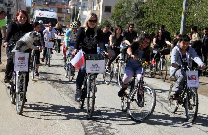 Alanya'nın Yabancı Misafirleri Organ Bağışı İçin Pedal Çevirdi