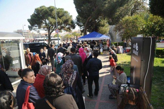 Aydın Büyükşehir Belediyesinden Şehitler Anısına Lokma Hayrı