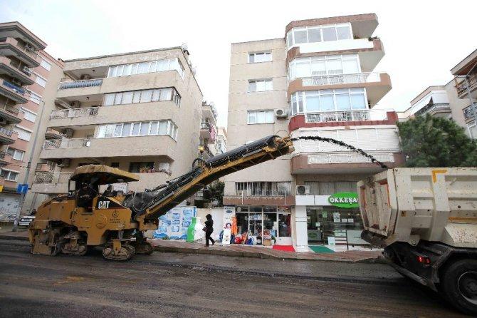 Karşıyaka'nın Sokakları Güzelleşiyor