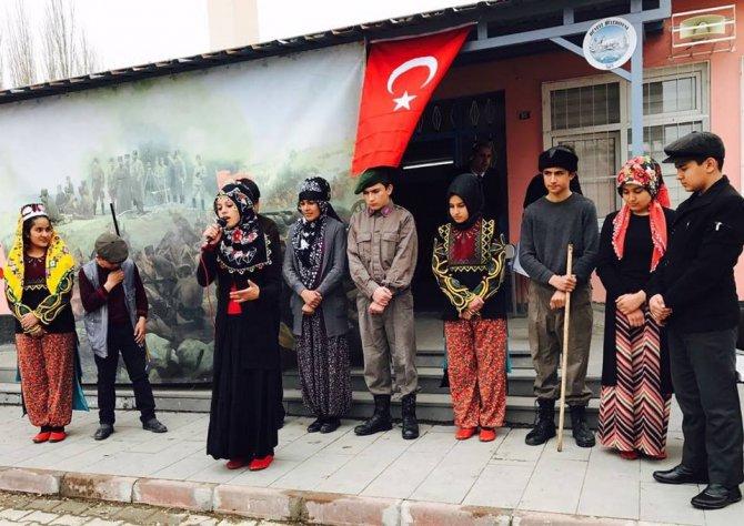 Epçe Ortaokulunda Çanakkale Şehitleri Anma Töreni Yapıldı