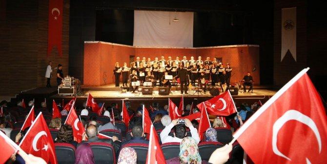 Çanakkale Zaferi'nin 102. Yıldönümü Döşemealtı'nda Çoşkuyla Kutlandı