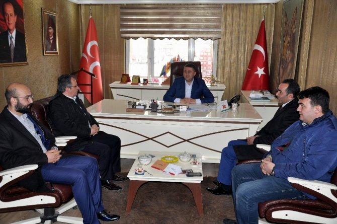 Ak Parti Yozgat İl Teşkilatından, Mhp İl Başkanlığına Ziyaret