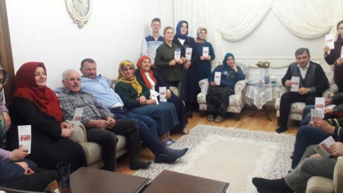 Akçakoca Belediye Başkanı Yemenici Ev Ev Geziyor