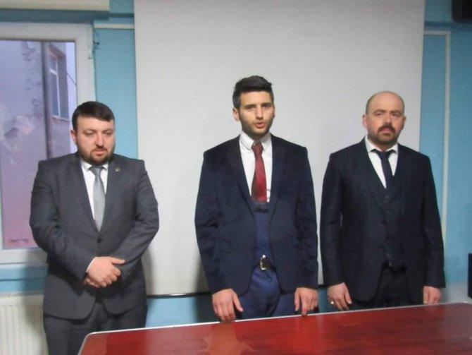 Bozüyük Ülkü Ocağı Başkanlığına Serdar Pehlivan Atandı