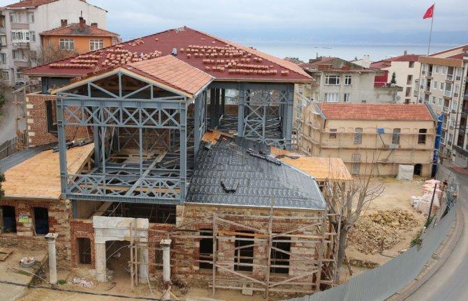 Darıca'da Tarihi Yapılar Hayat Buluyor