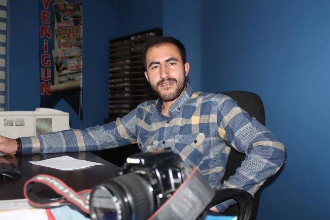 Kavgayı Bıraktı, Gazeteciye Müdahale Etti