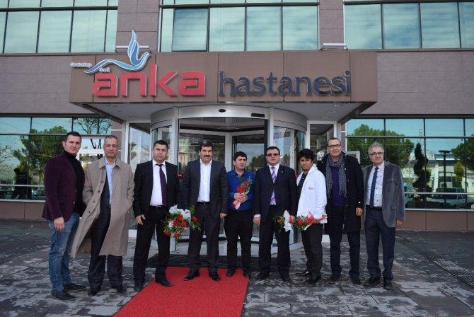 Gaziantep-kilis Tabip Odasından Anka'ya Ziyaret