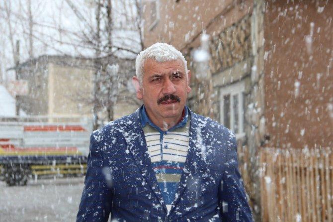 Oltu'da Kar Yağışı Etkili Oldu