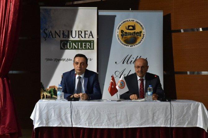 Ankara'daki Şanlıurfa Tanıtım Günleri Öncesi Toplantı Yapıldı